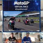 Erster virtueller MotoGP 2020 Barcelona - Start